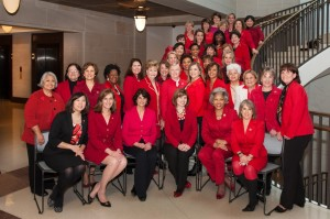 Women Caucus Go Red Photo 2-5-14